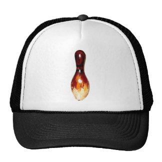 Bowling Pin Antique Trucker Hat