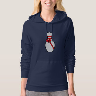 Bowling Pin with Bow Hoody