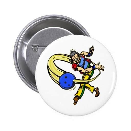 Bowling Pinback Buttons
