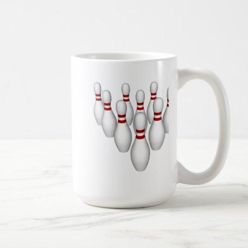 Bowling Pins: 3D Model: Coffee Mug