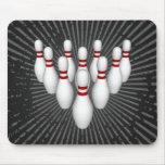 Bowling Pins: 3D Model: Mousepad