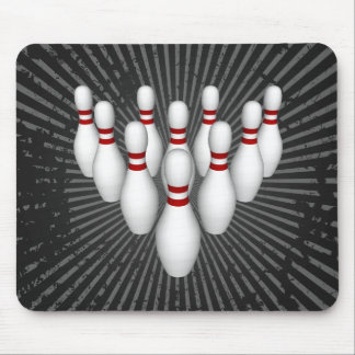 Bowling Pins: 3D Model: Mousepad
