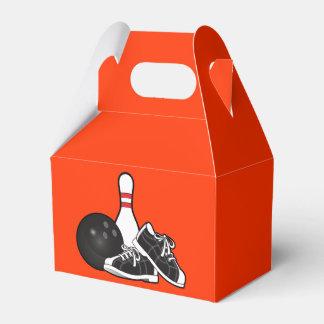 Bowling Pins and Ball Favor Box