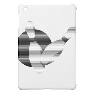 bowling pins and ball lines design iPad mini cases