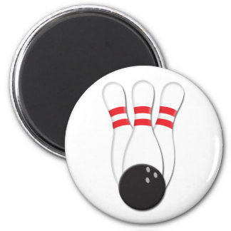 Bowling Pins and Ball Magnet