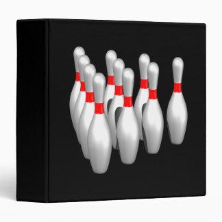 Bowling Pins Binder