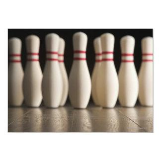 Bowling Pins Card
