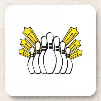 Bowling Pins Coaster