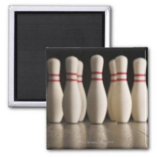 Bowling Pins Fridge Magnets