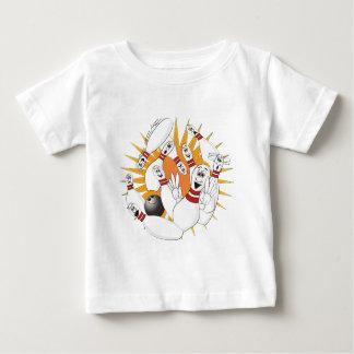 Bowling Pins Strike Cartoon Infant T-shirt