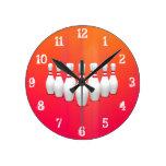 Bowling Pins: Wall Clock