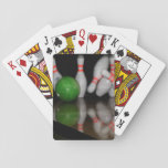 "Bowling Playing Cards<br><div class=""desc"">A deck of playing cards featuring a photo of bowling pins and a bowling ball. If you believe the cost and shipping is too much to pay. Join Zazzle Black at check out to get unlimited free shipping, huge discounts and great exclusives all year long. A standard membership is $9.99...</div>"