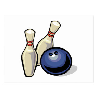 Bowling Post Card