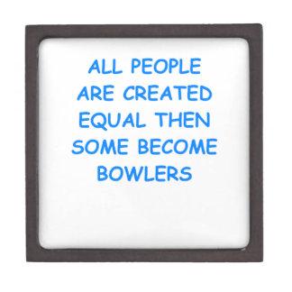 bowling premium jewelry box