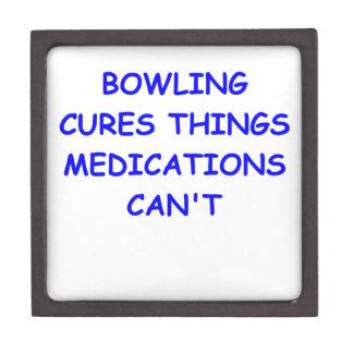 bowling premium keepsake boxes