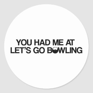 Bowling Products Classic Round Sticker