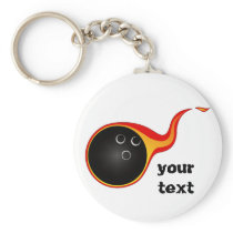 Bowling products keychain
