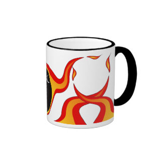 Bowling products ringer coffee mug