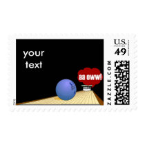 Bowling products postage
