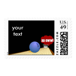 Bowling products stamps