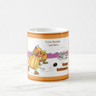 Bowling Pumpkins Coffee Mug