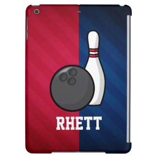 Bowling; Red, White, and Blue iPad Air Cases