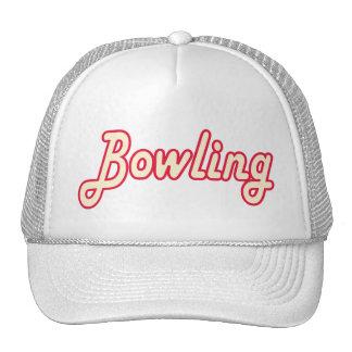 Bowling retro trucker hat