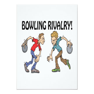 Bowling Rivalry Card