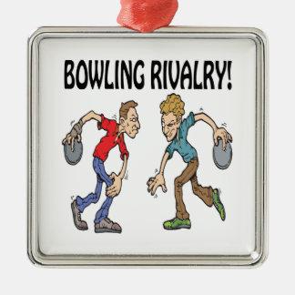 Bowling Rivalry Ornaments