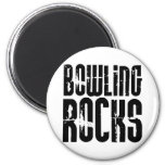 Bowling Rocks Magnet