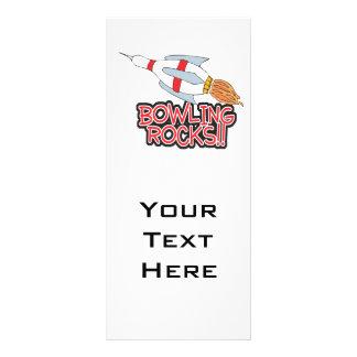 bowling rocks pin rocket custom rack card