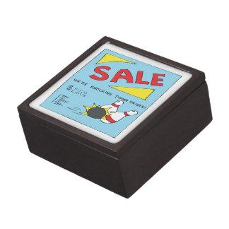 Bowling Sale Premium Trinket Box