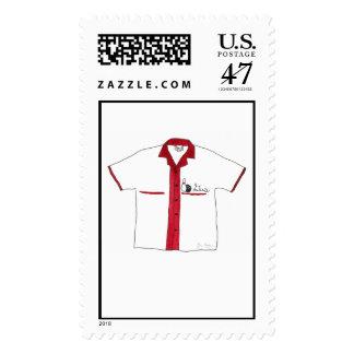 Bowling Shirt Custom Postage