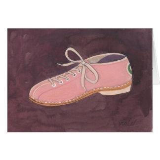 """""""Bowling Shoe"""" card"""