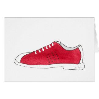 Bowling Shoe Cards
