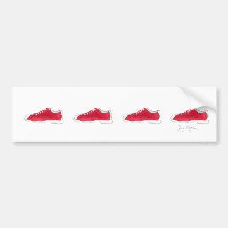 Bowling Shoes Bumper Sticker