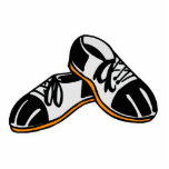 bowling shoes cartoon graphic photo sculpture