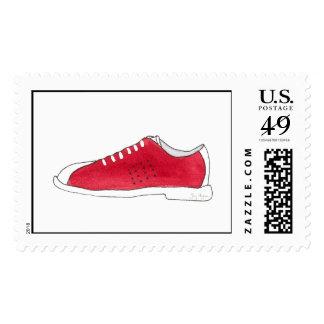 Bowling Shoes Custom Postage