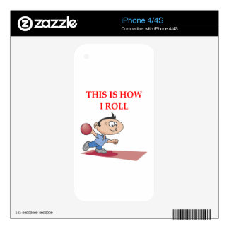 BOWLING SKINS FOR THE iPhone 4