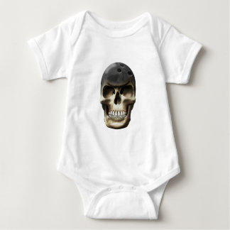 Bowling Skull Baby Bodysuit