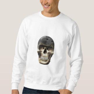 Bowling Skull Sweatshirt