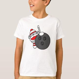 Bowling Sock Monkey T-Shirt