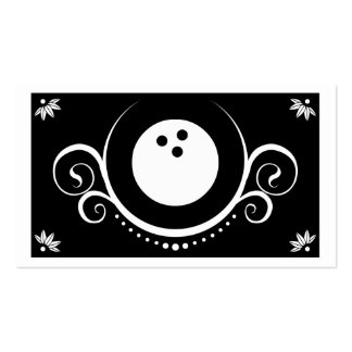 bowling sophistications Double-Sided standard business cards (Pack of 100)