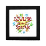 Bowling Sparkles Jewelry Boxes