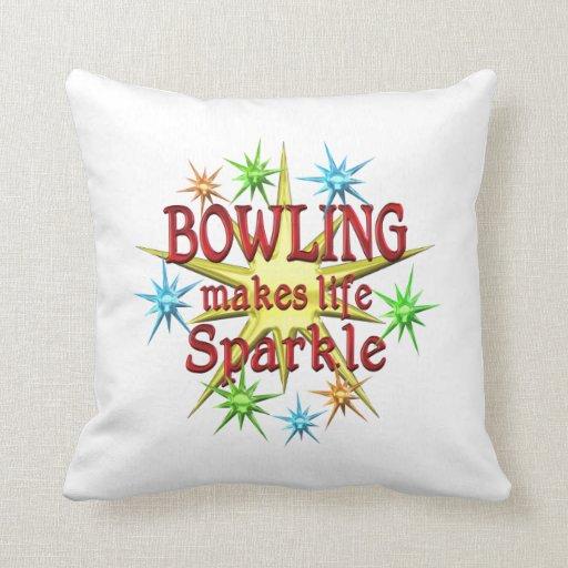Bowling Sparkles Pillow