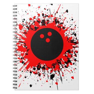 bowling splats notebook