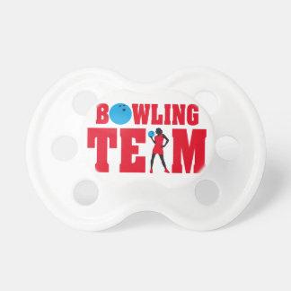 bowling sport woman chupetes