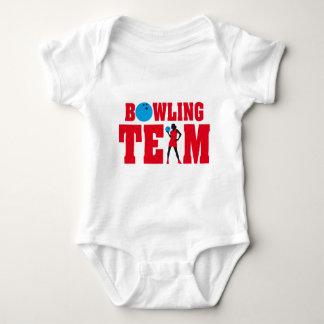 bowling sport woman t shirts