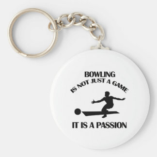 Bowling  sports designs keychain