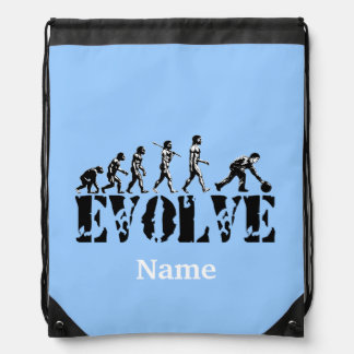 Bowling Sports Personalized Cinch Bag